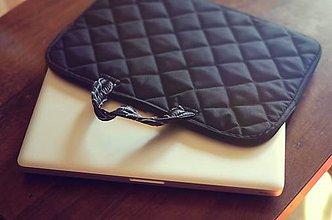 Na notebook - taška na notebook black - 4509388_