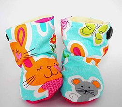Topánočky - Teplé papučky - 4508161_