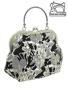 Kabelky - Spoločenská kabelka brokátová, kabelka dámská  1120 - 4527711_