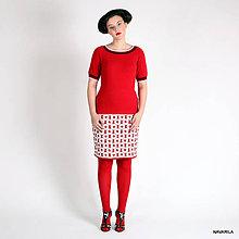 Sukne - kolečková sukně MIA- úzká - 4533593_