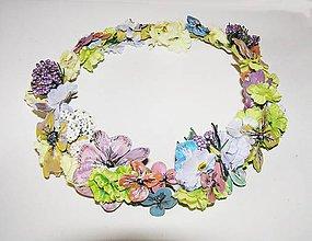 Ozdoby do vlasov - romantik venček lesnej víly - 4538782_