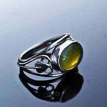 Prstene - Fire opal ring - 4586212_
