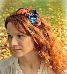 Ozdoby do vlasov - Hrejivá jeseň - 4587600_