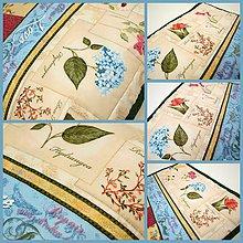 Úžitkový textil - Pro milovnici květin II - 4596212_