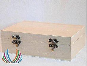 Polotovary - Krabica plochá obdĺžnik, ihneď - 4601602_