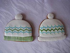 Dekorácie - medovníkové čiapky - 4609793_