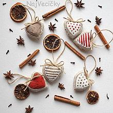 Dekorácie - Vianočné Mini - 4607317_