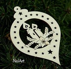 Dekorácie - Vianočná ozdoba Guľa so sviečkami - 4617403_