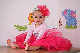 Detské oblečenie - *Čelenka s velkou květinou* - 4627975_