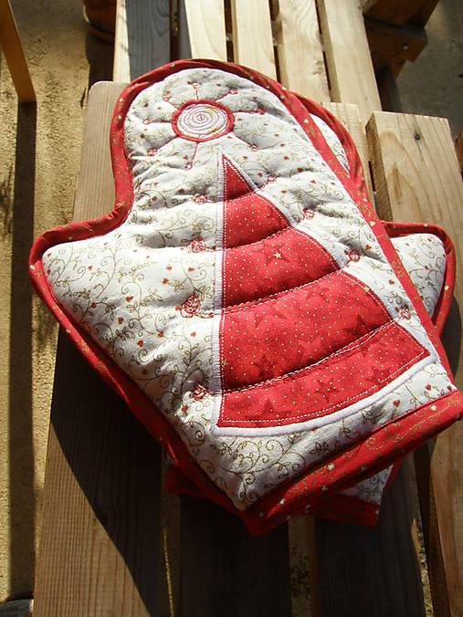 Úžitkový textil - Vianočné chňapky :) - 4634194_