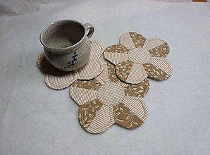 Úžitkový textil - kvetinovka prírodná - 4651680_