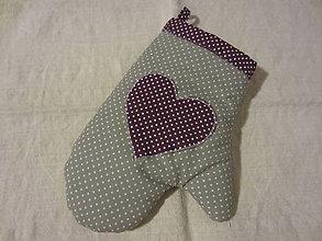 Úžitkový textil - rukavica pre gazdinky - 4674330_