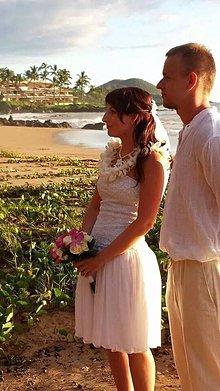 Šaty - HAWAII svadobné šaty - 4684115_