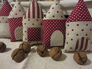 Dekorácie - vianočný domček - 4688384_