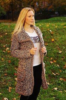 Kabáty - alpaKabát verzia Caffe Latte - 4692131_