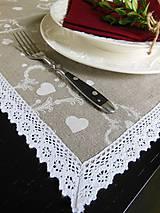 Úžitkový textil - Ľanová štóla Charmette - 4691357_