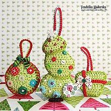 Návody a literatúra - Vianočné dekorácie - návod - 4711833_