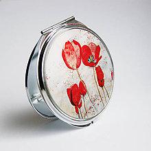 Zrkadielka - Zrkadielko s vlčími maky - 4746213_