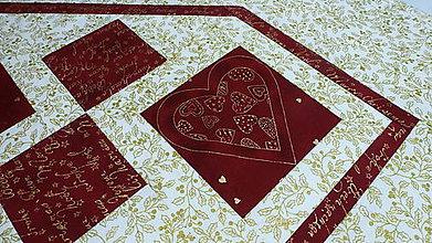 Úžitkový textil - vianoce zo srdca - 4806241_