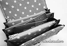 Peňaženky - Peněženka harmonika malá - 13x10cm - 4806344_