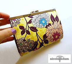 Peňaženky - Peněženka rámečková - střední 17x10cm - 4807043_