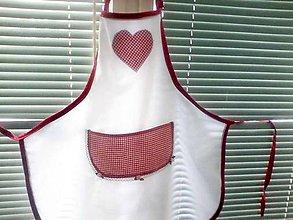 Iné oblečenie - romantika v kuchyni - zástera II - 4846524_