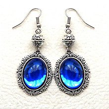 Náušnice - Blue dreams - 4858284_