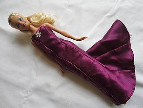 Hračky - šaty pre bábiku barbie plesové - 4910532_