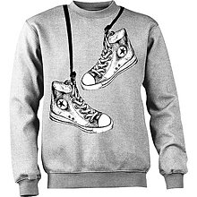 Oblečenie - mikina s botičkami 2 - 4925340_