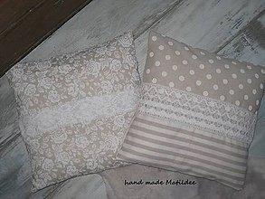 Úžitkový textil - režná romantika - 4931968_