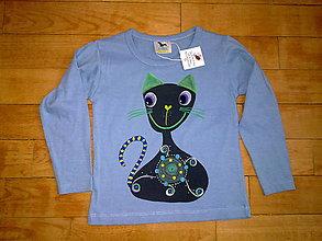 Detské oblečenie - mačkovité tričeno - 4954371_