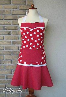 Iné oblečenie - zástera Tina gulička - 4983816_