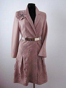 Kabáty - Originálny vlnený kabát - 5052229_