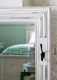 Zrkadlá - Veľké zrkadlo CAROLINA WHITE XL - 5059194_