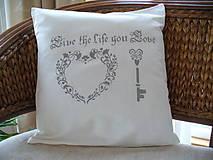 Úžitkový textil - Obliečka na vankúš folk - 5073083_
