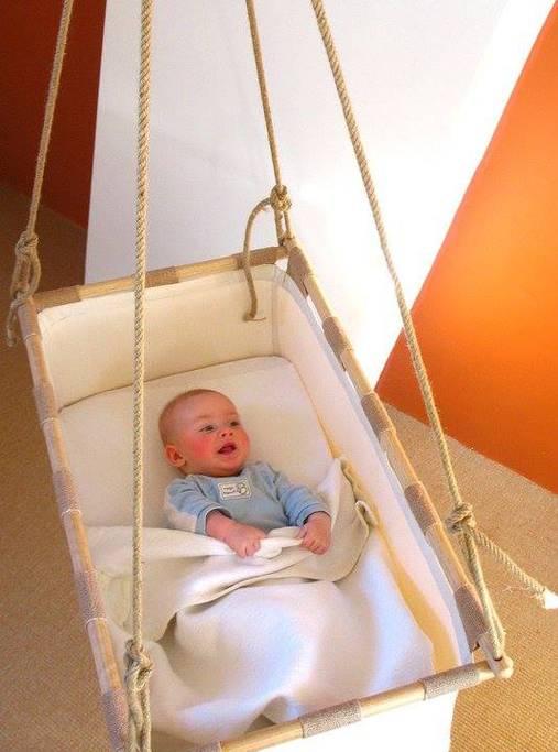 Кроватка для новорожденного сделай сама
