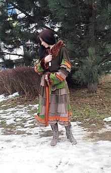 Kabáty - lel ,,svetrohrej patchwork sveter - 5075166_