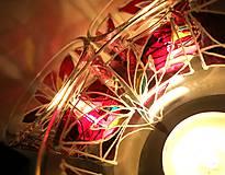 Svietidlá a sviečky - Rozkvitaj podvečerne - 5092374_