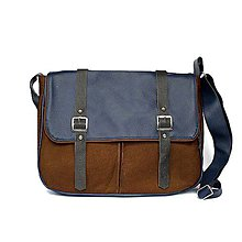 Kabelky - Denver (unisex taška modrá) - 5153318_
