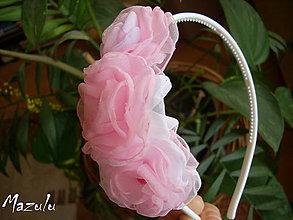 Ozdoby do vlasov - čelenka k Dolly sukničke - 5172076_
