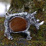 Náhrdelníky - divoký nosorožec - 5179554_