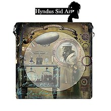 Kabelky - Crossbody big - Steampunk - 5189860_