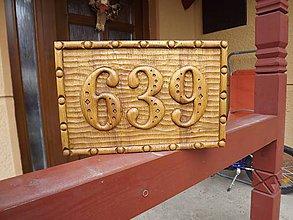 Dekorácie - Tabuľa číslo domu - 5194352_
