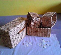 Košíky - Boxy KAJ/set - 5196152_