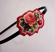Ozdoby do vlasov - Vintage ruže - 5209254_