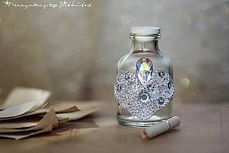 Drobnosti - magická lahvička na vzpomínky - 5219555_
