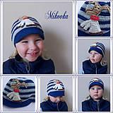 Detské čiapky - ciapka psik next - 5223751_