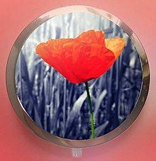Zrkadielka - červeň vlčího máku - text na přání - 5223759_