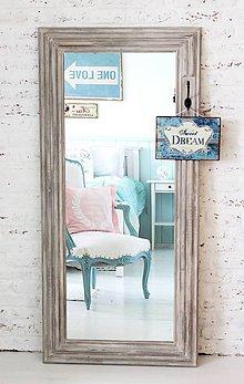 Zrkadlá - Zrkadlo CAROLINA BROWN 150cmx70cm - 5237471_