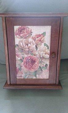 Krabičky - babičkine ruže... - 5251485_